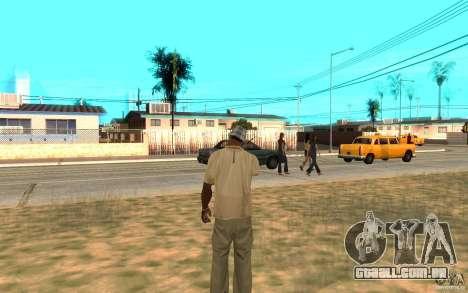 Proteção para o Cj para GTA San Andreas