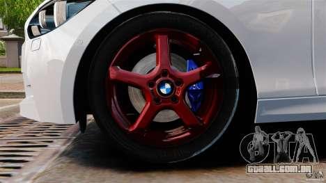 BMW 135i M-Power 2013 para GTA 4 vista lateral