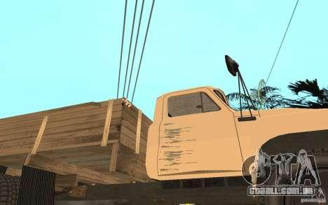 Gaz-52 para GTA San Andreas vista inferior