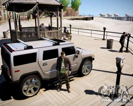 CoD Black Ops Hudson para GTA 4 quinto tela
