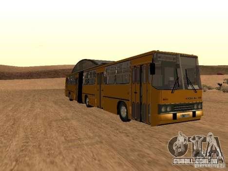IKARUS 280.33 para GTA San Andreas esquerda vista