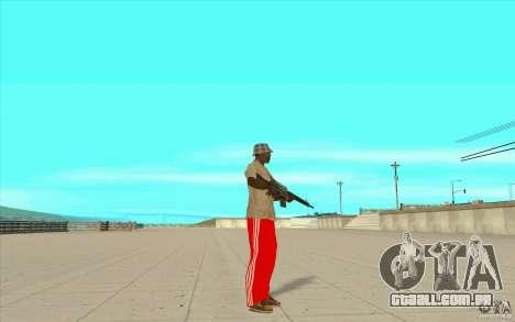Calças adidas para GTA San Andreas
