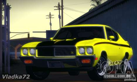 Buick GSX 1970 v1.0 para GTA San Andreas