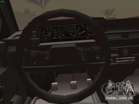 VAZ 21083i para o motor de GTA San Andreas