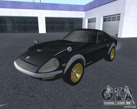 Nissan  Fairlady 240ZG para GTA San Andreas