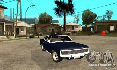 AMC Rambler Matador 1971 para GTA San Andreas vista traseira