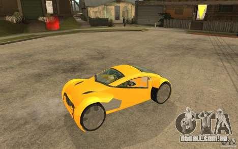 Lexus Concept 2045 para GTA San Andreas vista direita