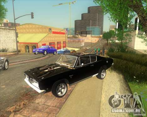 Plymouth Barracuda 1968 para GTA San Andreas