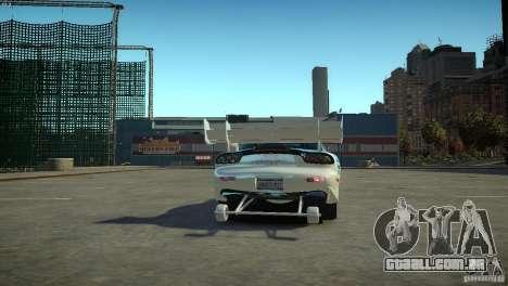 Mazda rx7 Dragster para GTA 4 traseira esquerda vista