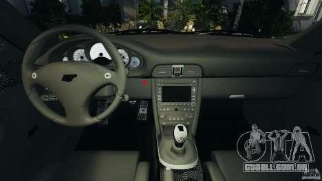 RUF RT12R 2011 para GTA 4 vista de volta