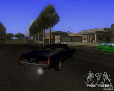 HD Esperanto para GTA San Andreas vista direita