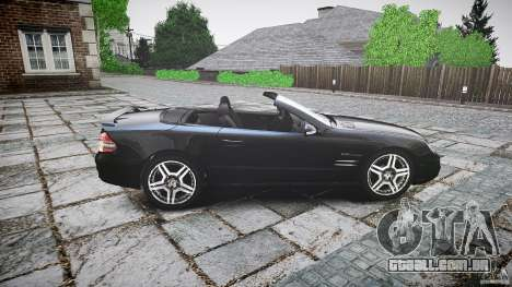Mercedes Benz SL65 AMG para GTA 4 esquerda vista
