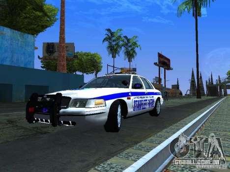 Ford Crown Victoria Police Interceptor 2008 para GTA San Andreas