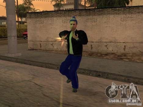 Gopnik peles para GTA San Andreas por diante tela