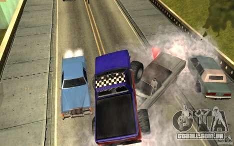 Ballas para GTA San Andreas segunda tela