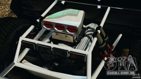 Toyota Tundra Karin Sahara v2.0 para GTA 4 vista de volta