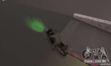 Luzes verdes para GTA San Andreas terceira tela