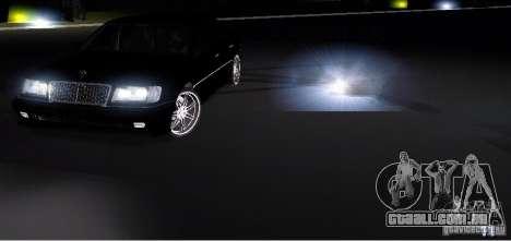 Electronic Speedometr para GTA San Andreas segunda tela