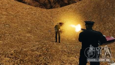 Bullet Time para GTA 4 sexto tela