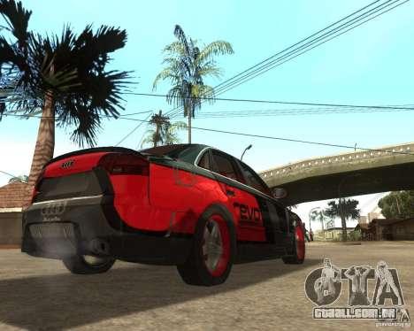 Audi RS4 Grip para GTA San Andreas vista direita