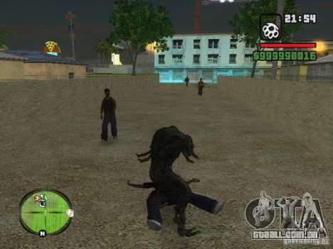 Bibliotekar para GTA San Andreas sétima tela
