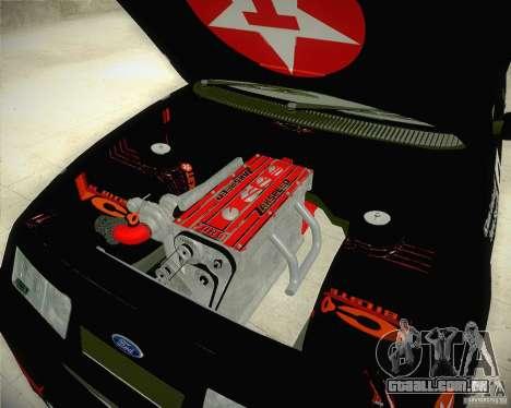 Ford Sierra RS500 Race Edition para GTA San Andreas vista traseira