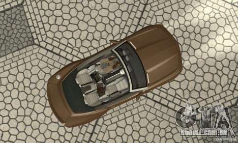 Chevrolet Camaro Concept 2007 para GTA San Andreas vista traseira