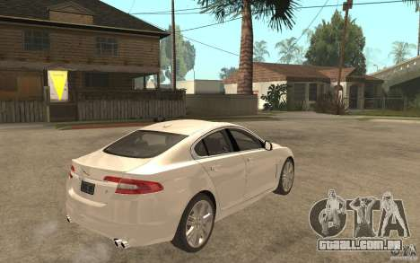Jaguar XFR para GTA San Andreas vista direita