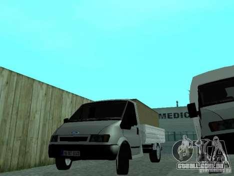Ford Transit 2005 para GTA San Andreas traseira esquerda vista