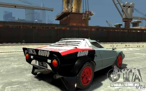 Lancia Stratos para GTA 4 vista direita