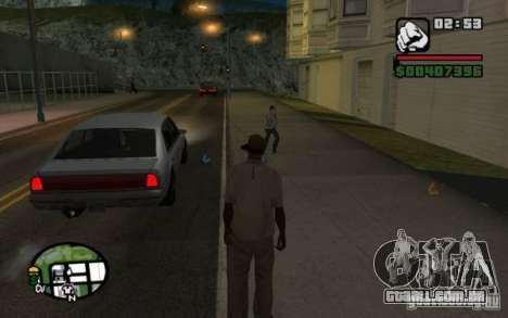 Jogue em transeuntes por lixo para GTA San Andreas terceira tela
