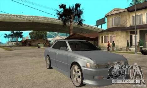 TOYOTA MARK II GT para GTA San Andreas vista traseira