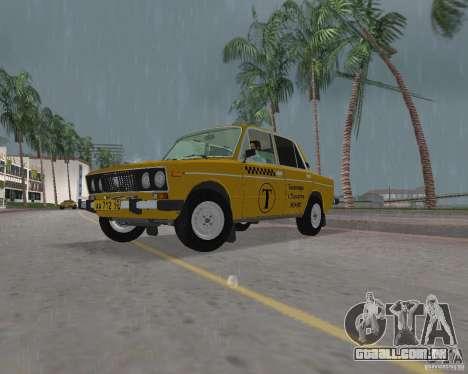 Táxi VAZ 2106 para GTA Vice City