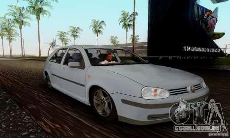 Volkswagen Golf 4 1.6 para GTA San Andreas vista direita