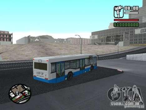 MAZ 103 para GTA San Andreas vista direita