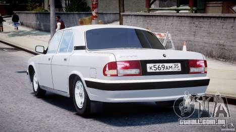 Gaz-31105 para GTA 4 traseira esquerda vista