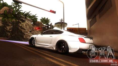Bentley Continental GT Premier4509 2008 Final para GTA San Andreas vista direita