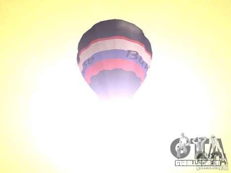 Balão Vityaz para GTA San Andreas vista traseira
