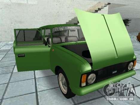 IZH Combi 21251 para GTA San Andreas vista interior