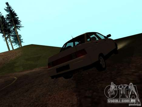 VAZ-21103 para GTA San Andreas esquerda vista