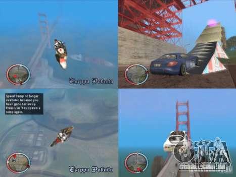 Jump Ramp Stunting para GTA San Andreas