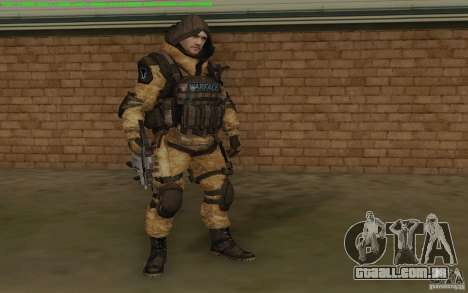 Warface sniper para GTA San Andreas