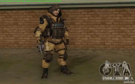 Warface sniper para GTA San Andreas