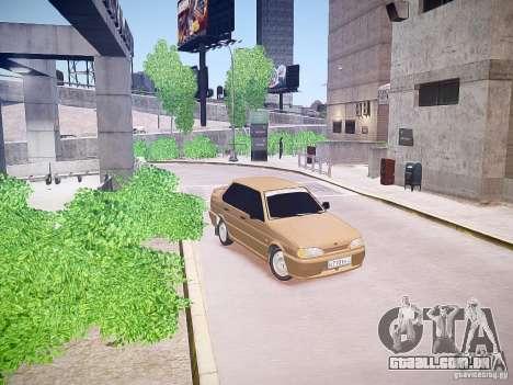 VAZ 2115 para GTA 4 esquerda vista