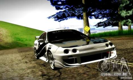 Acura Integra Type R para GTA San Andreas vista superior