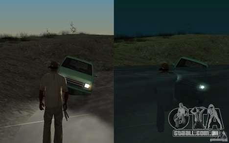 Fluxo e refluxo para GTA San Andreas