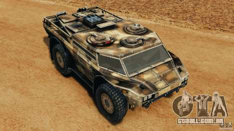 Armored Security Vehicle para GTA 4 interior