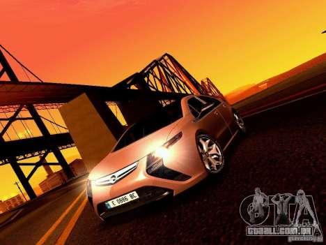 Opel Ampera para GTA San Andreas vista traseira