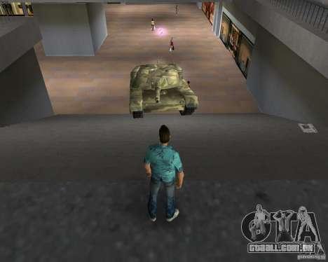 Tanque de Camo para GTA Vice City quinto tela