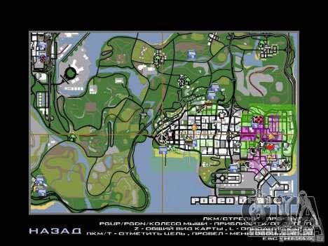 Asssassin Creed Style para GTA San Andreas por diante tela